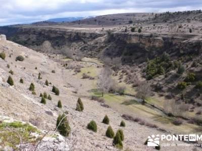 Senderismo Segovia - Riberas de los ríos Pirón y Viejo; tarjeta federativa; la casita del bosque